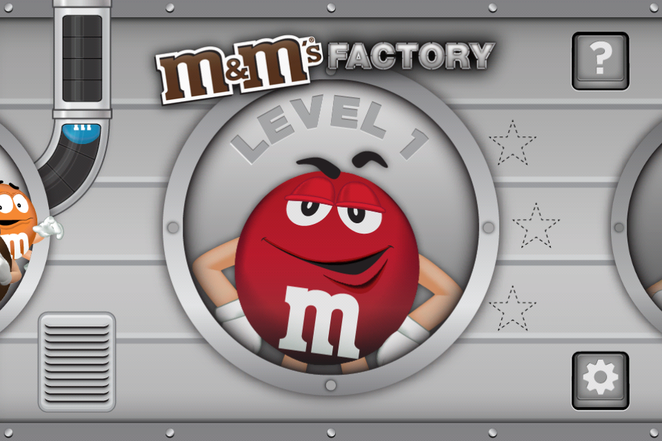 Screenshot M&M'S Chocolate Factory